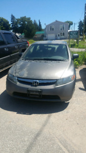 2007 honda civic AS IS