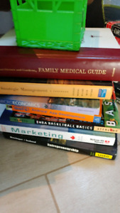 Textbooks, Dictionaries, Recipe Books for sale $5 each obo