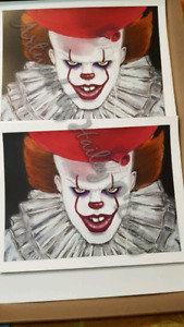 Pennywise  art prints