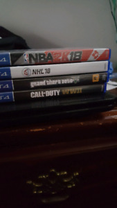 Ps4 games for sale sold whole or seperatley
