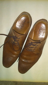 Mens size 11 light brown dress shoes