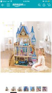 Cinderella dollhouse ! Brand new !
