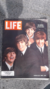 Life Magazine featuring the Beatles