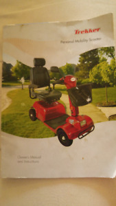 Trekker Personal Mobility Scooter (As is)