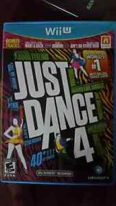 Jeu wii U just dance 4