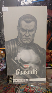 Hot toys sideshow exclusive punisher