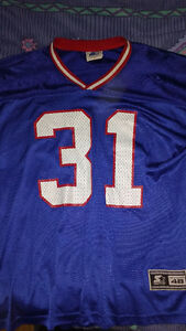 JASON SEHORN New York Giants Jersey! L (48) Used! EX COND! London Ontario image 1
