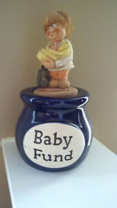 "Muddy Waters ""Baby Fund"" Jar Cambridge Kitchener Area image 1"