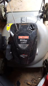 5.5 HP Craftsman gas mower- great condition