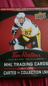 Tim Horton Upperdeck carte set complet