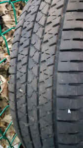 One 215/75/15 Tire