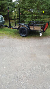 51 wide by 87 long utility trailer