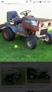 WANTED OLD LAWN TRACTOR WILL HAUL AWAY FOR FREE OR A FAIR PRI!!!