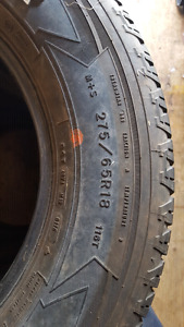 4 275/65R18 tires