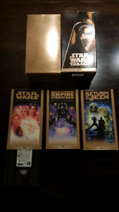 VHS Star Wars trilogy special edition