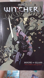 The Witcher House of Glass Graphic Novel Comic