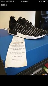 Looking for Blackout/Whiteout Nmd with receipts size 9-10.5