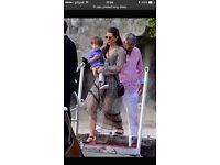 Zara long chiffon dress size M 8-10 TopShop style H&M Chanel LV MK