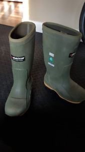 2 Pairs Steel toed winter boots