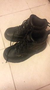 Steel Toed safety Shoes/Boots - Black