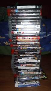 Selling 26 ps3 games