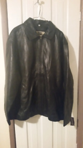 Men's Leather Jacket - BRAND NEW