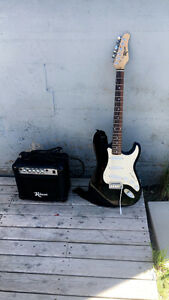 Robson Electric Guitar + Amp