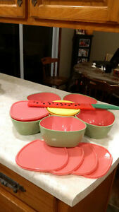 watermelon knife and serving set