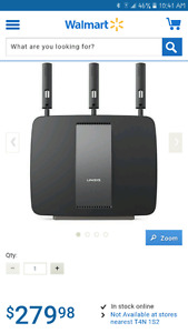 Linksys Tri-Band Wireless AC3200 Gigabit Router (EA9200-4C)