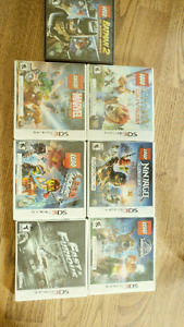 NINTENDO 3DS Games and Case