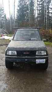 1990 Chevrolet Tracker SUV, Crossover Prince George British Columbia image 1