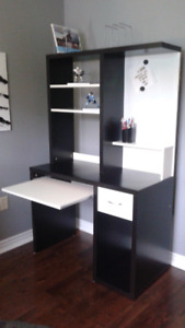 Cute Desk with shelves & white board