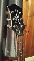 BC Rich Mockingbird Special edition guitar+hard case+amp