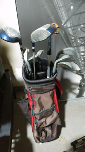 Golf set + bag