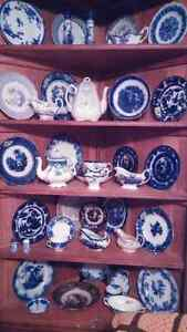 Antique Flow blue / Wedgewood many other assorted China Kingston Kingston Area image 8