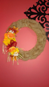Outside Door Wreath