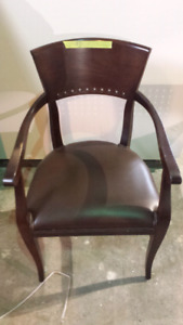 Wood Dining Chairs x17