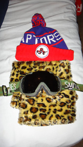 Hat, goggles and scarf $20OBO