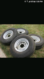 """Ford Dodge GM  16""""  8 x 6.5steel wheels  3/4  and 1 ton"""