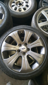 """FORD TRANSIT CONNECT ALLOYS 17"""" INC TYRES FIT AND BAL OPN 7 DAYS"""