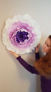 The Giant Handmade Decorative Flowers - SALE!!!