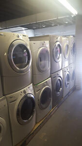 27'' WASHERS & DRYERS 1 YEAR WARRANTY STARTING FROM $249