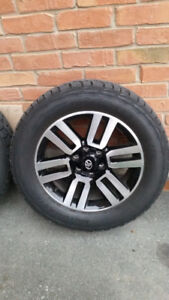 Toyota tires and rims 275 55 R20