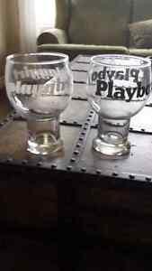 Retro PLAYBOY and PLAY GIRL GLASSES Oakville / Halton Region Toronto (GTA) image 1