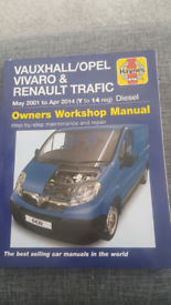 Vivaro and trafic Haynes manual