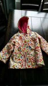Size 3 candy rain coat