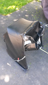 Leather sidecar cover