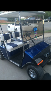 1989 ezgo oil injected golf cart