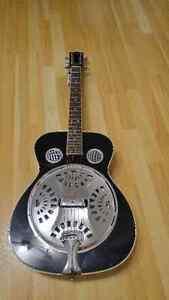 Brand New Johnson Round Neck Resonator Acoustic Guitar