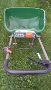 Scotts grass spreader